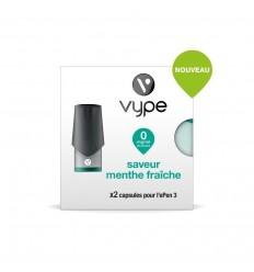 CAPSULES EPEN 3 MENTHE FRAICHE - VYPE