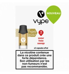 CAPSULES EPEN 3 FRAISE SAUVAGE sel de nicotine - VYPE