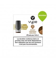CAPSULES EPEN 3 CLASSIC SÉLECTION sel de nicotine - VYPE