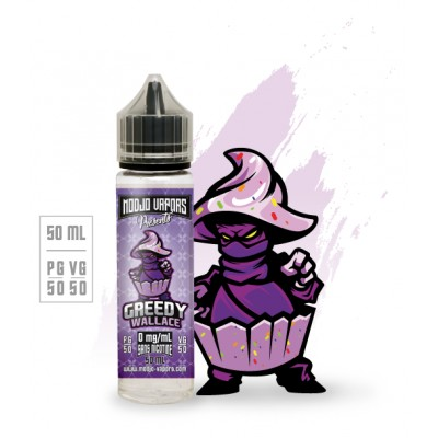 GREEDY WALLACE 50ML 0MG